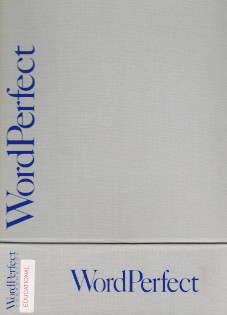 WordPerfect 4.1- For the Amiga