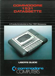 Commodore 1531 Datassette. User's Guide