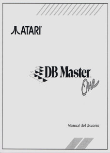 DB Master One - Manual del Usuario
