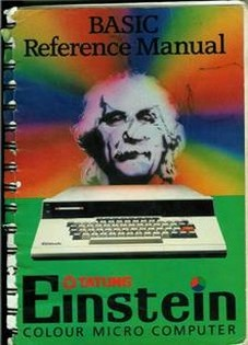 BASIC Reference Manual Einstein
