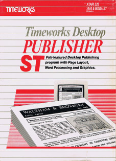 Timeworks Desktop Publisher ST