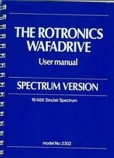 The Rotronics Wafadrive User manual. Spectrum version