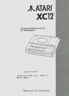 Atari XC12 - Manual del Usuario