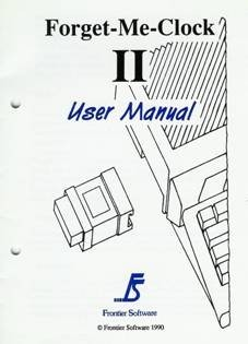 Forget-Me-Clock II. User Manual