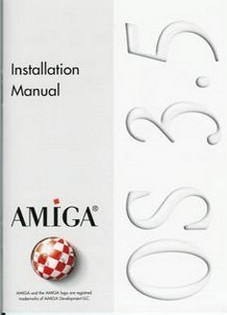 AMIGA OS 3.5 Installation Manual / Installations-Handbuch