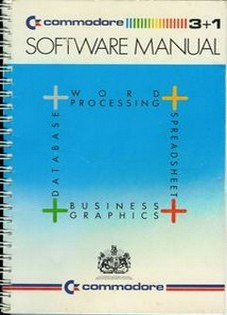 Commodore Plus/4. Integrated Software Manual