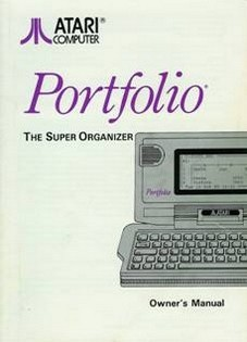 Portfolio. The Super Organizer. Owner's Manual
