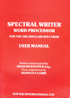 Spectral Writer - User Manual