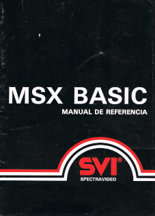 MSX BASIC. Manual de Referencia