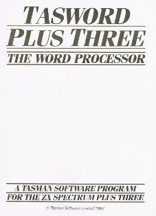Tasword Plus Three