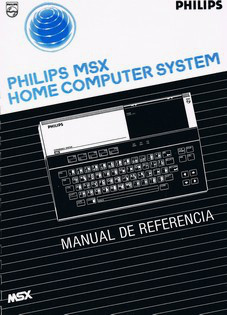 Philips MSX Home Computer System - Manual de Referencia