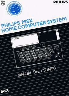 Philips MSX Home Computer System - Manual del Usuario